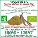 Herbe traditionnelle médicinale Réglisse Bio Racine coupée