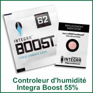 Integra Boost 62% - sachet de contrôle d'humidité des plantes