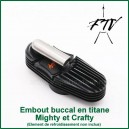 Embout buccal titane Crafty et Mighty