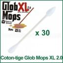 Coton-tige Glob Mops XL 2.0 pack de 30 pour le nettoyage vaporisateur