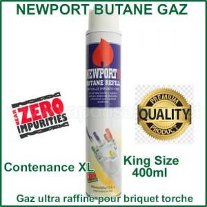 NewPort gaz extra purifié- recharge XL de 400ml