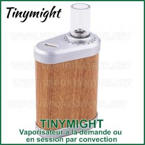 Tinymight vaporisateur à chauffe par convection à la demande