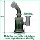 Mini bubbler pour vaporisateur - bubbler MiniRig