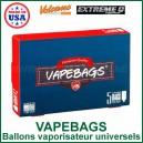VapeBags x 5 sacs de vapeur pour vaporisateur universels silencieux et faciles à changer