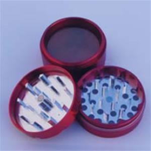 Grinder Aluminimum magnétique 50mm 4 parties récupérateur pollen