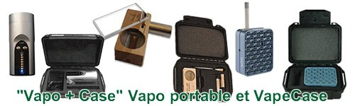"Packs ""Vape + Case"" vapos portables"