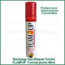 Recharge gaz universelle format de poche mini Flam'Up 90ml