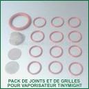 O-Ring Set TinyMight - Pack de joints et de grilles vaporisateur