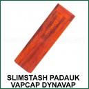 SlimStash Padauk DynaVap - l'étui de transport en bois VapCap plus fin