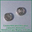SlimDiscCaps x 2 - filtres coussinets huiles fins pour capsules doseuses Mighty et Crafty