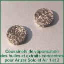Filtres Disques x 2 huiles et extraits CO2 pour Arizer Air et Solo 1 et 2