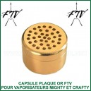 Capsule plaqué or FTV pour capsules doseuses Mighty et Crafty