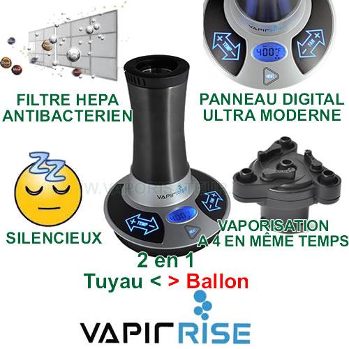 Nouveau vaporisateur VapirRise de Vapir Inc