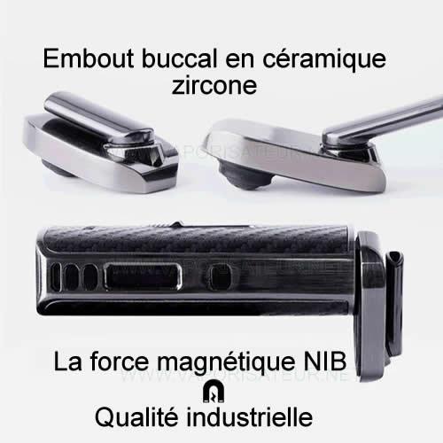 Embout buccal magnétique du vaporisateur Ace XMAX - fixation magnétique de type NIB