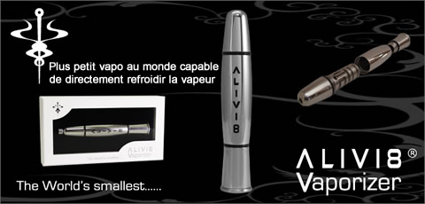 Meilleur vaporisateur portable Alivi 8