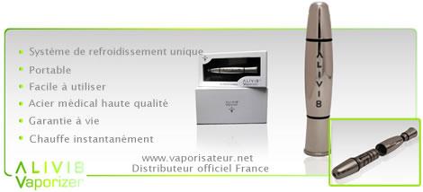 Revendeur officiel France vaporisateur Alivi 8