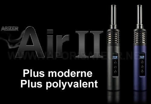 Nouvelle version du vaporisateur pen Arizer Air 2
