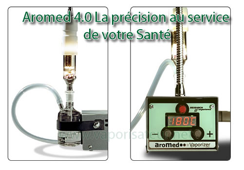 Vaporisateur Aromed 4.0 - la précision de vaporisation professionnelle