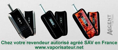 Vaporisateur portable Ascent moins cher en France