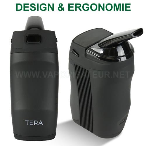 Design et ergonomie du vaporisateur portatif Tera Boundless