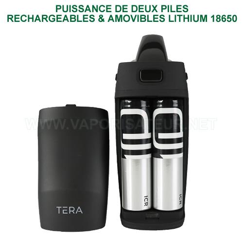 Deux piles rechargeables lithium 18650 amovibles pour Tera Boundless