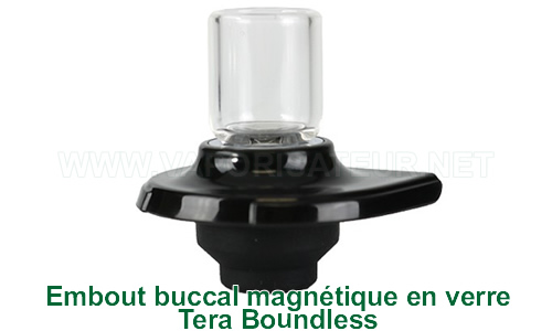 Pièce buccale magnétique en verre pour Tera Boundless vaporisateur portable