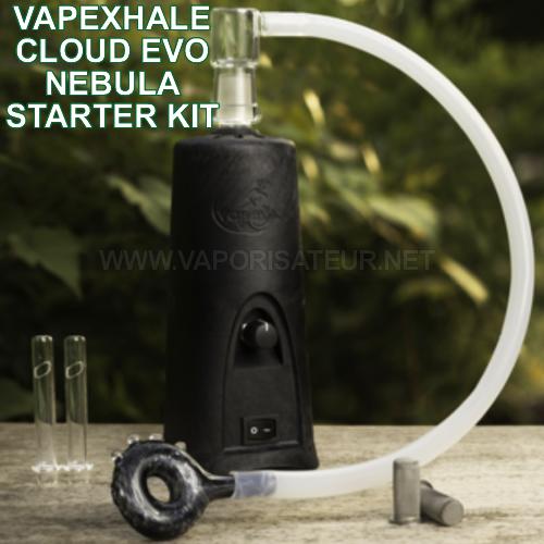 Vapexhale Cloud Evo Nebula Starter Kit - meilleur vaporisateur de salon au monde - pure convection