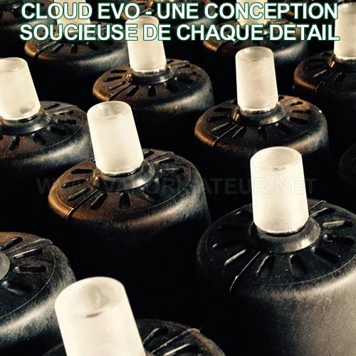 Cloud Evo - vaporisateur de salon à chauffe par convection haut de gamme
