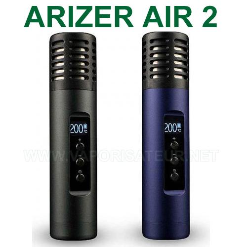 Vapo pen Arizer Air 2 - désormais doté de la configuration de température digital au degré près