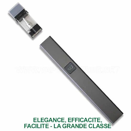 Vue des différentes parties du vape pen CBD et cigarette électronique e-liquides CBD Cora VapeDynamics