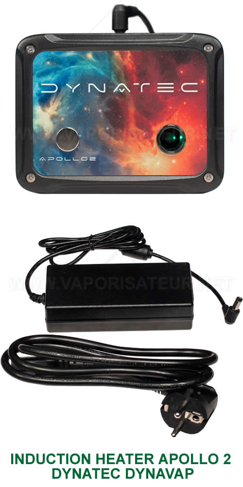 Appareil de chauffe électrique par induction pour vaporisateurs DynaVap VapCap Induction Heater Apollo 2 DynaTec