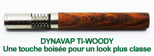 Ti-Woody VapCap de DynaVap