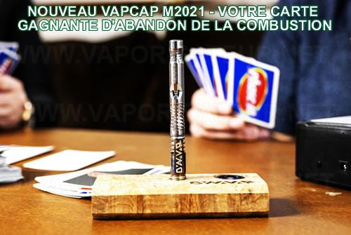 Nouveau vaporisateur VapCap M 2021 - nouveauté l'année 2021 du fabricant DynaVap chez le revendeur français
