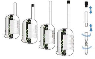 Embout buccal du Iolite vaporisateur portable en marche