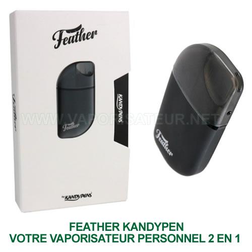 Feather KandyPen - vaporisateur personnel CBD 2 en 1 - e liquides et huiles de cannabidiol