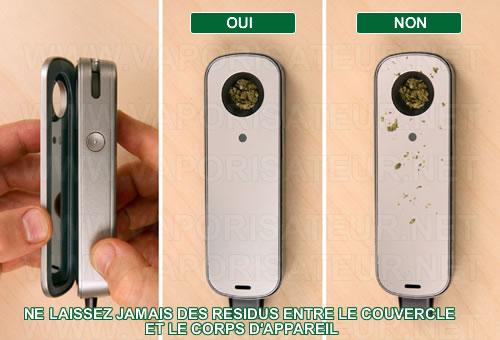 Le remplissage correct et optimisé du vaporizer portable Firefly 2