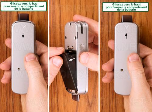 Comment remplacer la batterie lithium rechargeabe du vaporisateur Firefly 2