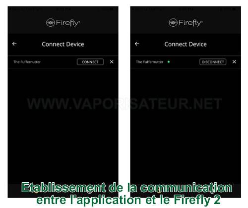 Guide d'utilisateur de connexion à l'application smartphone Firefly 2