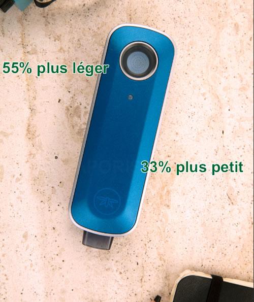 La taille et le poids du nouveau vaporisateur portable Firefly 2