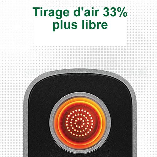 Tirage plus libre et plus aérien avec le vaporisateur portatif Firefly 2+
