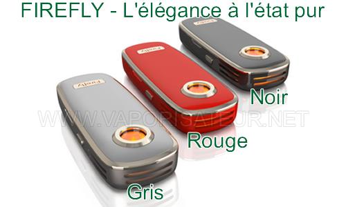 Firefly - vaporisateur portable à chauffe par convection