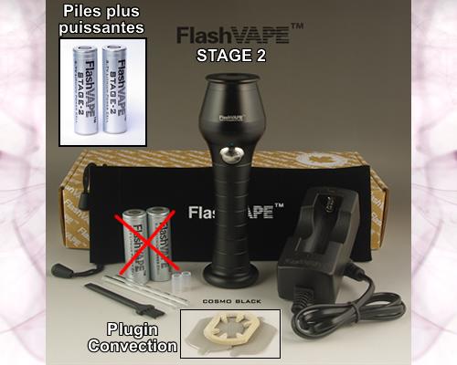 Nouvelle version du vaporisateur FlashVAPE -Stage 2