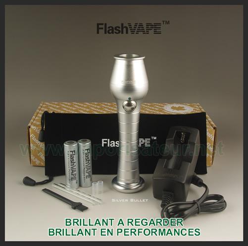 Toutes les versions du vaporizer FlashVAPE Stage 2