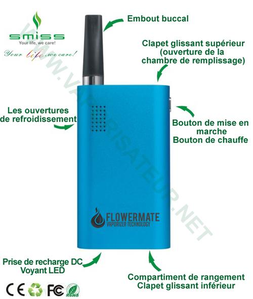Présentation détaillée du vaporizer Vapormax V Flowermate 5.0