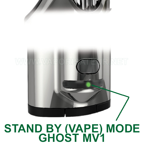Stand by mode du vaporizer Ghost MV1 - Vape Mode