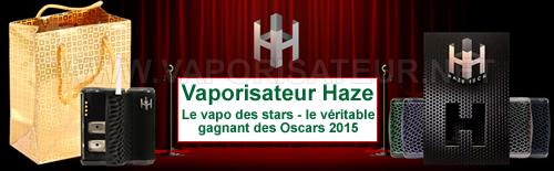 Vaporisateur portable offert aux nominés des Oscars - Haze V2.5