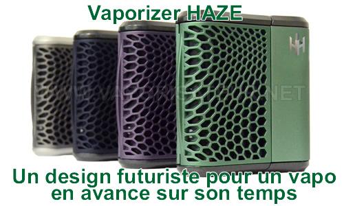 Haze V2.5 - vaporizer portable avec deux chambres de remplissage