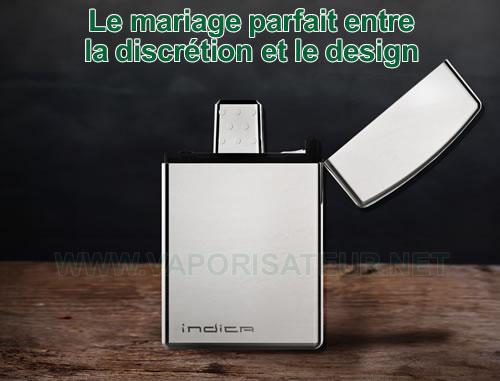 Indica - vaporisateur portable le plus discret