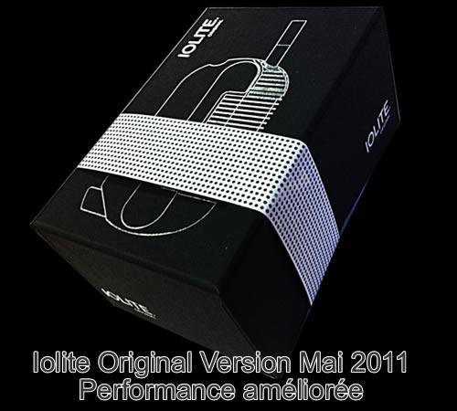 Nouvelle version du vaporisateur Iolite Original version 2011