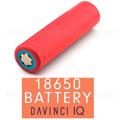 Batterie lithium rechargeable 18650 pour vaporizer IQ Da Vinci